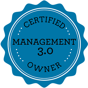 I'm Certified Management 3.0 Owner